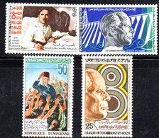 XP4082 - TUNISIA 1971,  La Serie  Yvert N. 695/698  *** MNH - Tunisia (1956-...)