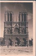 POSTAL NOTRE DAME - FACADE - PARIS - Notre Dame De Paris