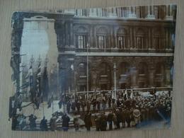PHOTO DE PRESSE LES ANCIENS COMBATTANTS FRANCAIS A LONDRES 1935 - Places