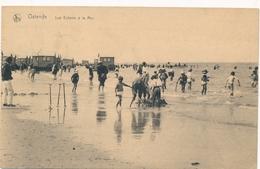 CPA - Belgique - Oostende - Ostende - Les Enfants à La Mer - Oostende