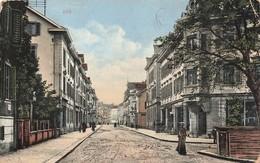 Suisse Zug Zoug Strasse Cpa Carte Animée + Timbre Cachet 1916 - ZG Zug