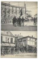 16-COGNAC-Fêtes 14.07.1919 N°7-2 Vues - Défilé Des Drapeaux...  Animé - Cognac