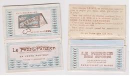 """Carnet Papier A Cigarette LE NIL Carnet Publicitaire """"Le Petit Parisien""""neuf - Other"""