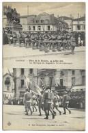 16-COGNAC-Fêtes 14.07.1919 N°8-2 Vues - Musique Régiment Tchéco-Slovaque Et Drapeaux Pendant Le Défilé...  Animé - Cognac