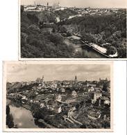 3081c: 2 AKs Znaim, Rückseitig Beschriftet Bzw. Gelaufen, 1941 - Tschechische Republik