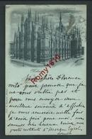 Milano. Milan. La Cattedrale. Cathèdrale En 1899. Scan Recto/verso. - Milano (Milan)