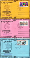 Postal History: Germany 6 Covers. Letzttagsbrief And Ersttagsbrief From Eitelborn - [7] Federal Republic