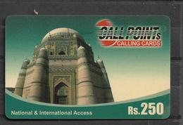 PAKISTAN USED PHONECARD RS 250 - Pakistan