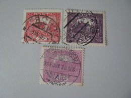 Tschechoslowakei   27 , 28 , 29  O - Oblitérés