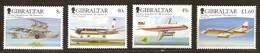 Gibraltar 2006 Yvertnr 1175-1178 *** MNH  Cote 13,00 Euro  Avions Vliegtuigen Airplanes - Gibraltar