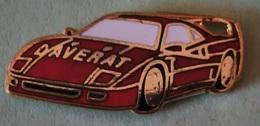 Pin's FERRARI - DAVERAT - Ferrari