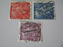 Tschechoslowakei   183 - 185 O - Oblitérés