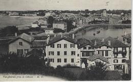 64 ( Pyrenees  ) - SAINT JEAN De LUZ - Vue Generale Prise De Ciboure ( Timbre PARIS Exposition Internationale 1937 ) - Saint Jean De Luz
