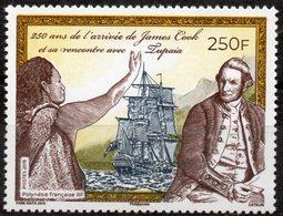 Polynésie Française 2019 - James Cook, Voilier - 1 Val Neuf // Mnh - Polynésie Française