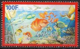 Polynésie Française 2019 - Faune Marine Protégé, Poisson Le Rahui - 1 Val Neuf // Mnh - Polynésie Française