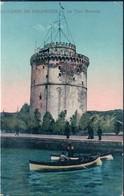 POSTAL GRECIA - SOUVENIR DE SALONIQUE - LA TOUR BLANCHE - HANANEL NAAR - Grecia