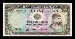 Portuguese Guinea Portuguesa 50 Escudos 1971 Pick 44 SC UNC - Billetes