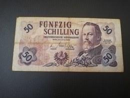 AUSTRIA 50 SHILLINGS 1962. F - Austria
