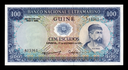 Portuguese Guinea Portuguesa 100 Escudos 1971 Pick 45 SC UNC - Banconote