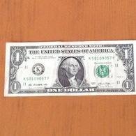 1$ USA Série 2013 K. K50109057F Très Beau - Billets De La Federal Reserve (1928-...)