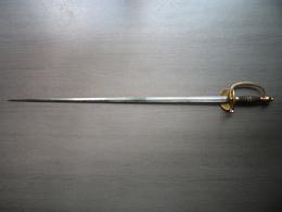 Belle épée D'officier Epoque Second Empire - Armes Blanches