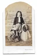 CDV Portrait Enfant Georges De Macar  Déguisé W. Damry Liège (grande Famille Liégeoise Noblesse Aristocratie) - Identified Persons