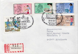Postal History: Germany R Cover With Set - Unclassified