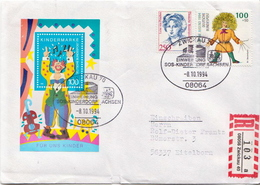 Postal History: Germany R Cover With Special Cancel - [7] Federal Republic