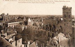 DIJON 21, VUE D'EN HAUT, VUE PRISE DE L'EGLISE NOTRE DAME - Dijon
