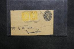 CANADA - Entier Postal + Complément ( Fragment ) - L 31577 - 1860-1899 Regering Van Victoria