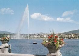 AN17 Geneve, Le Jet D'eau Et Le Mont Blanc - GE Geneva
