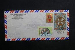TAIWAN - Enveloppe De Taiwan Pour La France En 1972 , Affranchissement Plaisant - L 31580 - 1945-... République De Chine