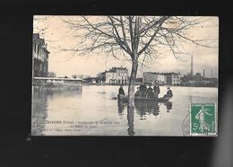 C.P.A. DES INONDATIONS DE DECEMBRE 1910 A GIVORS 69. - Givors