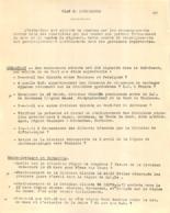 PLAN DE RECHERCHES PAR REGION 2 FEUILLETS   RESISTANCE - 1939-45