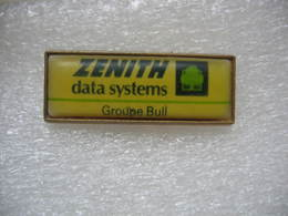 Pin's Informatique: ZENITH Data Systems, Groupe Bull - Computers