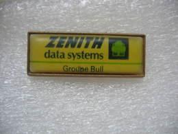 Pin's Informatique: ZENITH Data Systems, Groupe Bull - Informatique