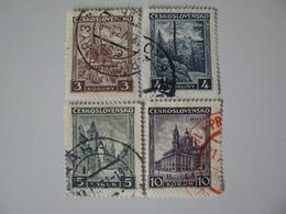 Tschechoslowakei  291 - 294 O - Oblitérés