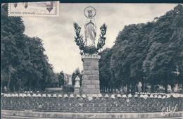 POSTAL LOURDES - LA VIERGE COURONNEE - DOUCET - EDLUX - FRANCIA - Lourdes