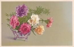 AK Nelken In Vase (41697) - Blumen