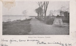 AR29 Battery Park, Burlington, Vermont - Undivided Back - Burlington