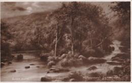 AR29 Watersmeet, Lynmouth - Elmer Keene Postcard - Lynmouth & Lynton