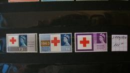 GREAT BRITAIN 1963 Y&T378A/80A (Phosphore) Complete Set Fine Mint**(MNH) - Nuovi