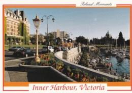 AL56 Inner Harbour, Victoria - Animated, Cars, Hotel Empress - Victoria