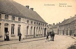 Scheldewindeke - Statiestraat (animatie, Paard, Kleermaker, Uitg. O. Latoit) - Oosterzele