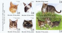 1995: Markenheftchen - Katzen - Finnland