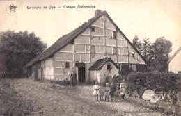 Spa (environs De) - Cabane Ardennaise (animée, Héliotypie De Graeve, Star) - Spa