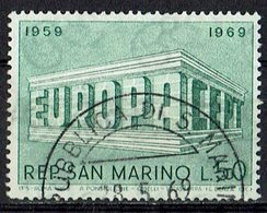*San Marino 1969 // Mi. 925 O - Europa-CEPT