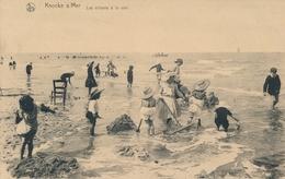 CPA - Belgique - Knokke - Knocke - Les Enfants à La Mer - Knokke