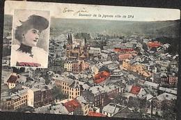 Spa - Souvenir De La Joyeuse Ville (colorisée, Marcovici 1906) - Spa