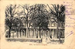 Spa - La Galerie Léopold (animée, 1901) - Spa